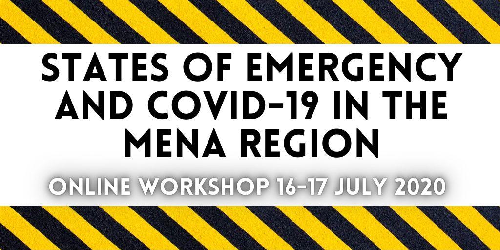 Programme for Online Workshop 16-17 July 2020